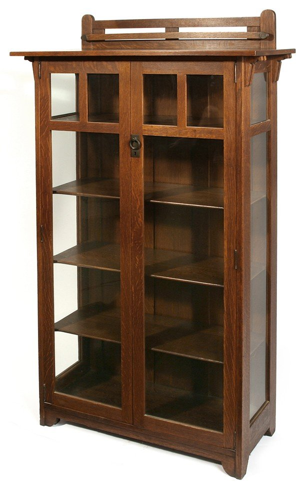 11: STICKLEY BROTHERS 2- DR. CHINA CABINET