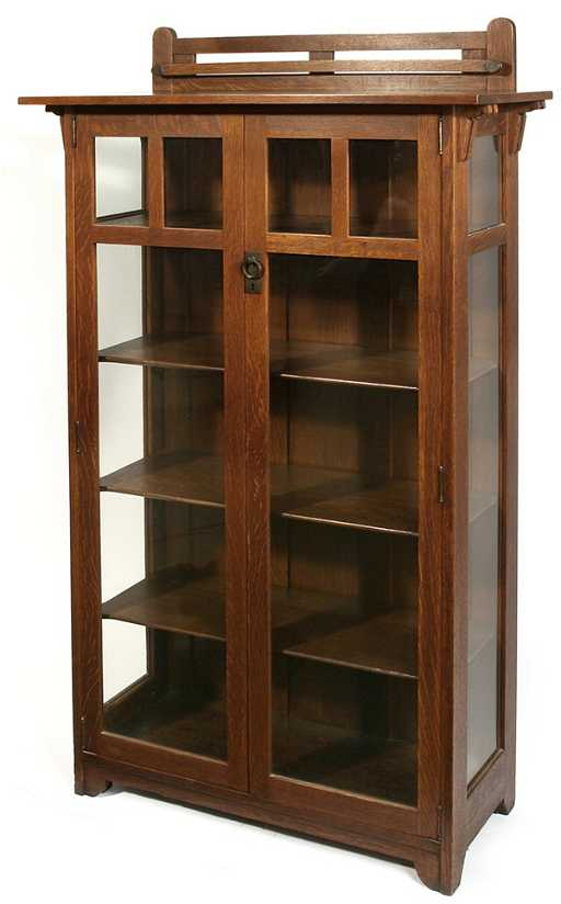 11 Stickley Brothers 2 Dr China Cabinet