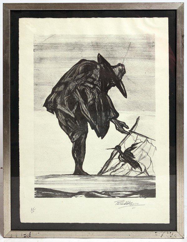 24: PABLO O'HIGGINS (MEXICO) LITHOGRAPH