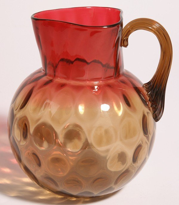 19: AMBERINA COIN SPOT WATER PITCHER
