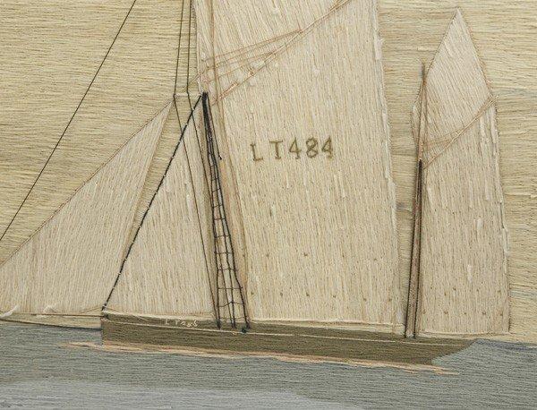 38: NEEDLEWORK WOOLIE OF ENGLISH SHIP JOHN FREDERICK - 2