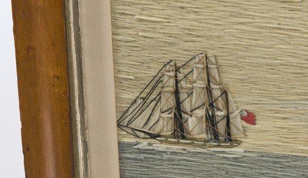 38: NEEDLEWORK WOOLIE OF ENGLISH SHIP JOHN FREDERICK - 3