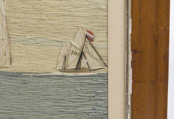 38: NEEDLEWORK WOOLIE OF ENGLISH SHIP JOHN FREDERICK - 4