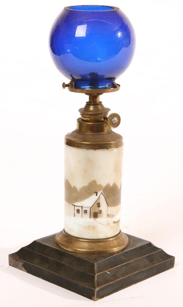 93 Antique Counter Top Cigar Lighter Lamp