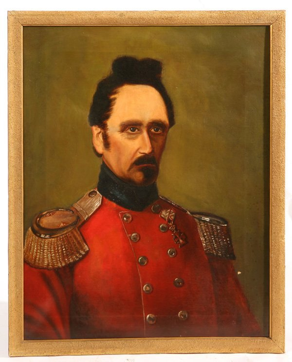 102: LT. COLONEL NICOLAUS G.H. KAUFFMANN PAINTING