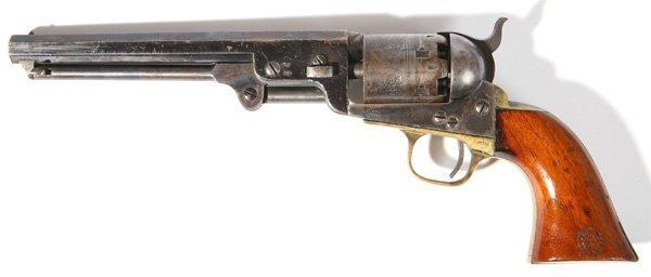 104: COLT MODEL 1851 NAVY PERCUSSION REVOLVER