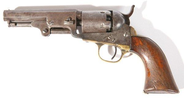 105: COLT MODEL 1849 POCKET PERCUSSION REVOLVER