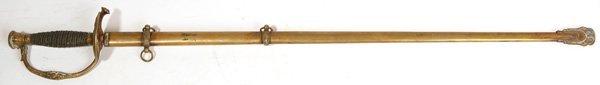 110: M1860 STAFF & FIELD OFFICER'S SWORD