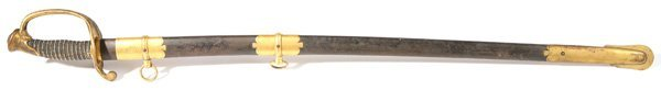 112: AMES M1850 FIELD & STAFF OFFICER'S SWORD
