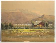 167 HENRY L RICHTER 1919 WATERCOLOR