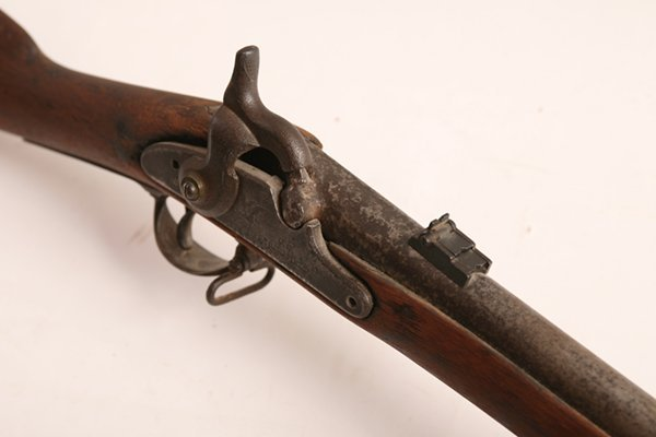 CIVIL WAR 1864 U.S. SPRINGFIELD RIFLE W/ BAYONET - 5