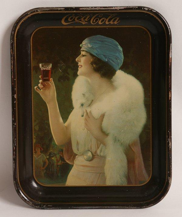 ORIGINAL 1925 COCA-COLA SERVING TRAY