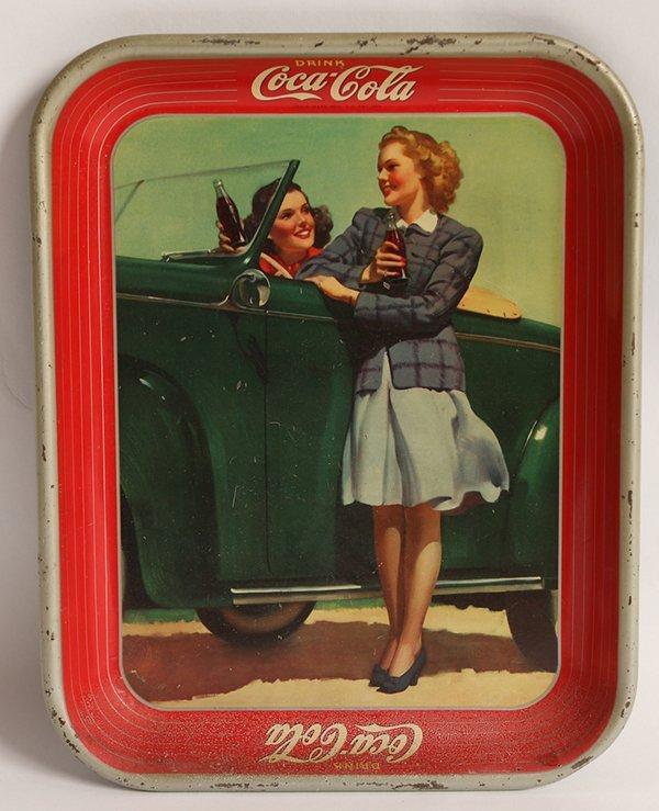 1942 COCA-COLA SERVING TRAY