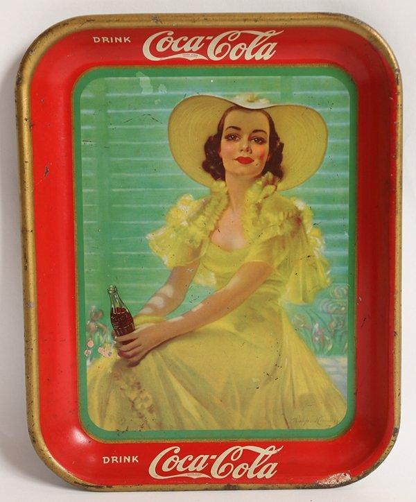 1938 COCA-COLA SERVING TRAY
