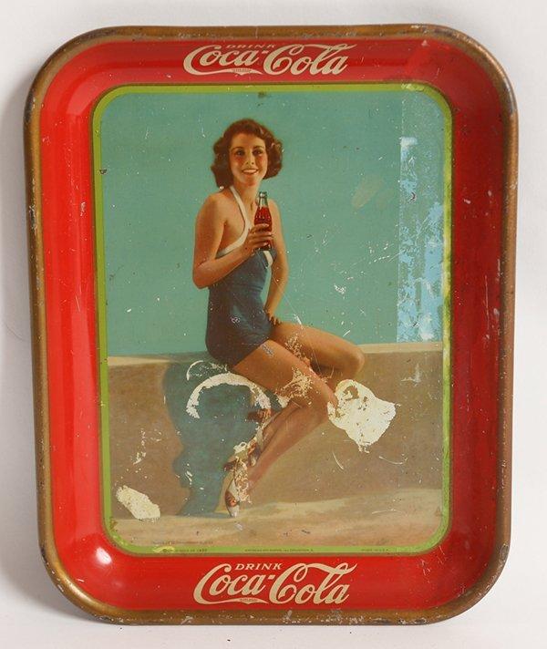 1933 FRANCES DEE COCA-COLA SERVING TRAY