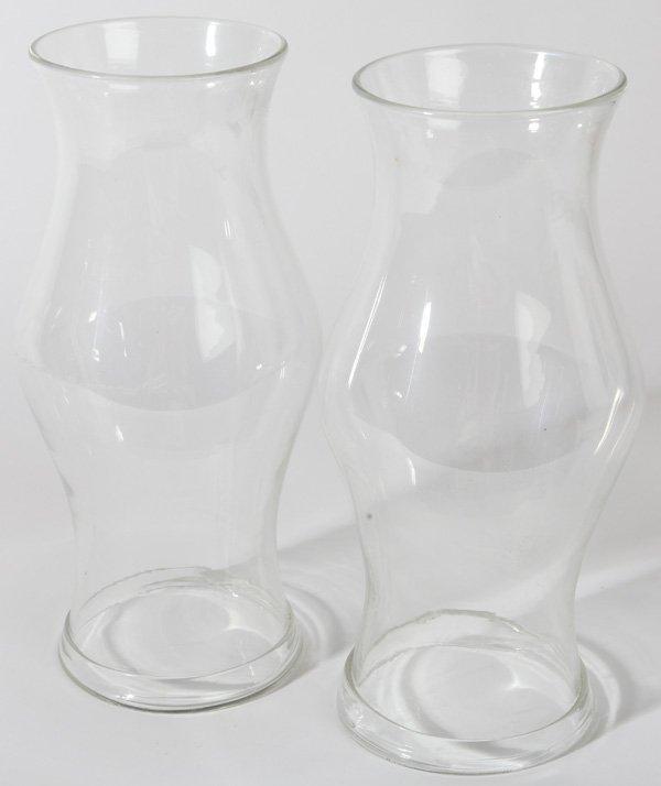 PR. BLOWN GLASS HURRICANE SHADES