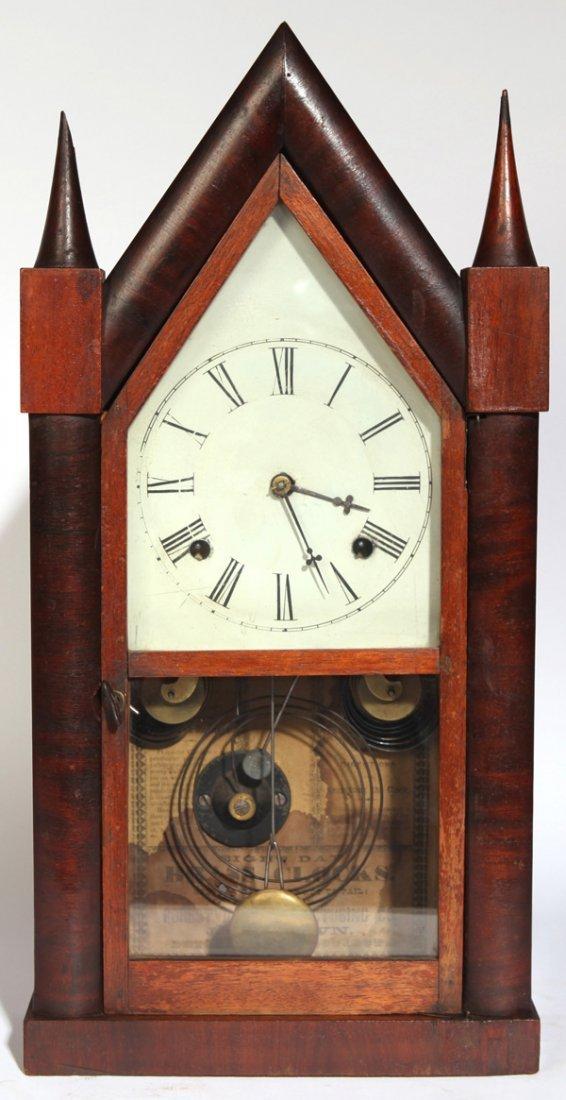 J.C. BROWN STEEPLE CLOCK