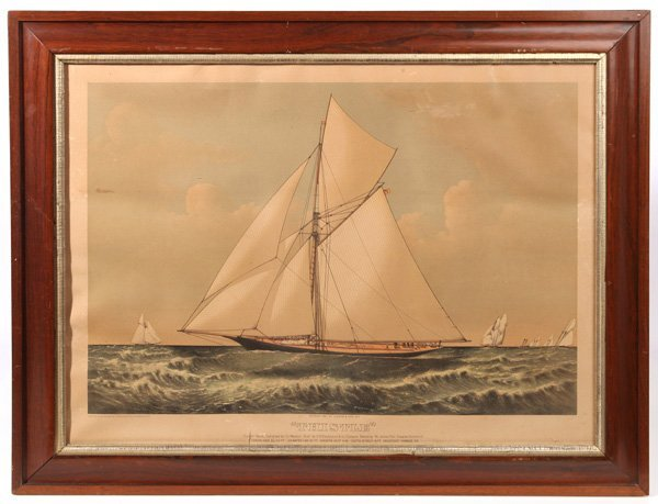 ORIGINAL AMERICA'S CUP FOLIO CURRIER & IVES