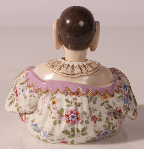 MEISSEN PORCELAIN NODDER OF CHINESE LAUGHING BUDDHA - 3