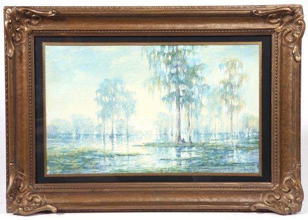 Alexander John Drysdale La Ga Watercolor Painting