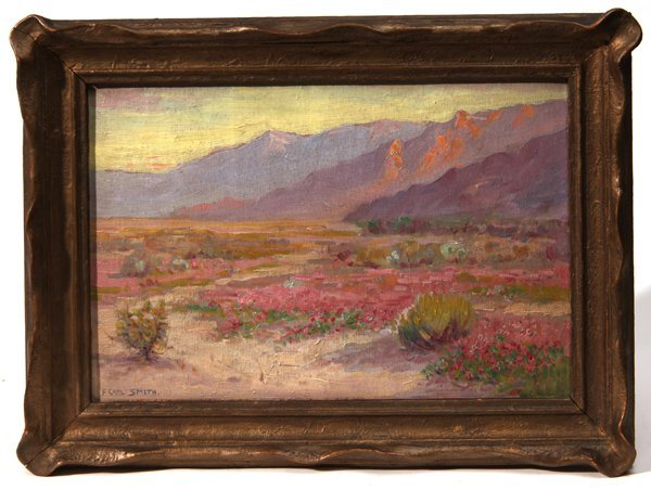 Frederick Carl Smith California Oil Painting