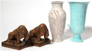 Four Pieces of Rookwood Pottery