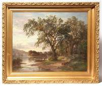 Paul Gottlieb Weber (PA) Oil Painting