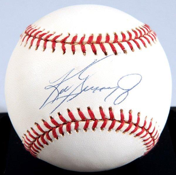 Ken Griffey Jr. Autographed Baseball