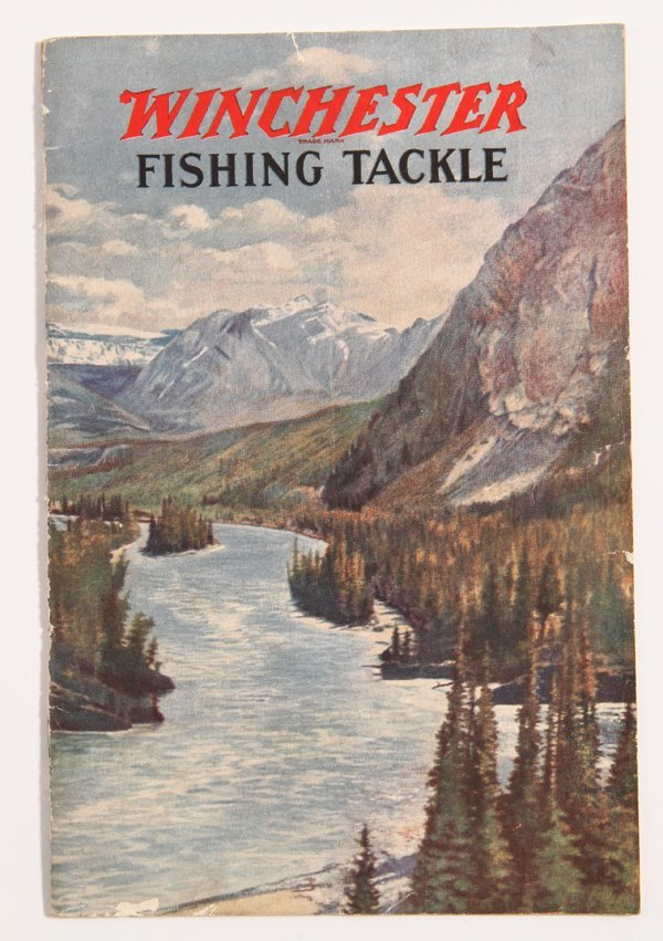 Rare Winchester Fishing Tackle Catalog