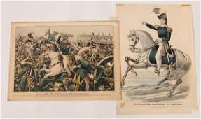 Two Mexican War Prints incl. Zachary Taylor