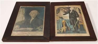 Two Early George Washington Prints