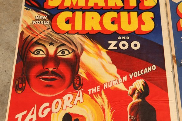 Two Billy Smarts Circus Posters - 6