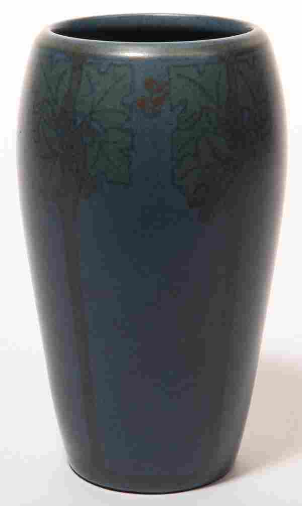 Marblehead Pottery Hand Decorated Vase