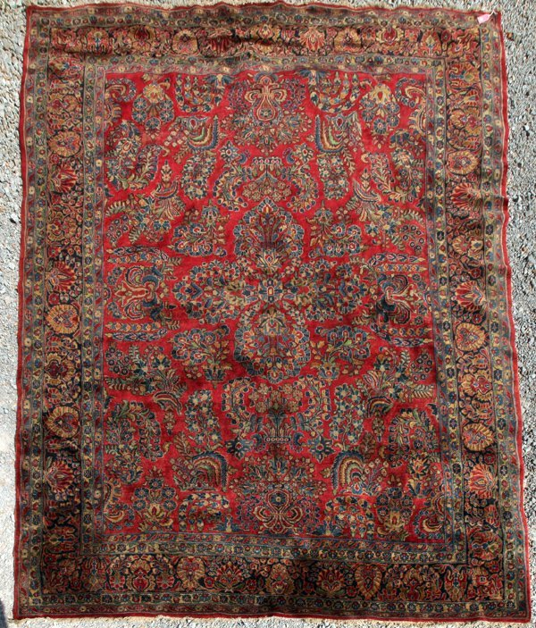 Semi Antique Room Size Oriental Rug