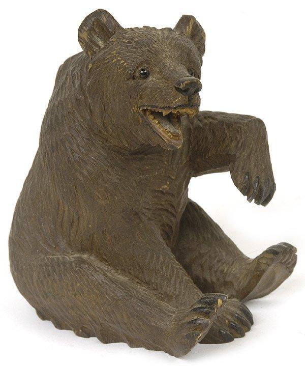 24: BLACK FOREST CARVED BEAR