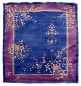 344: NICHOLS STYLE ROOM SIZE CHINESE ORIENTAL RUG