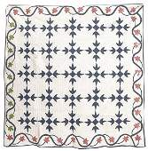 Early Hand Stitched Pieced Quilt