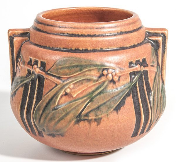 Early Roseville Laurel Vase