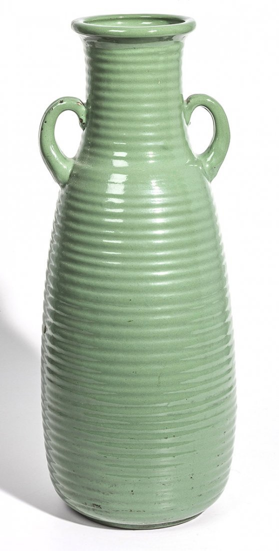 Monmouth Pottery Arts & Crafts Floor Vase