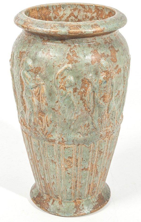Burley Winter Arts & Crafts Floor Vase