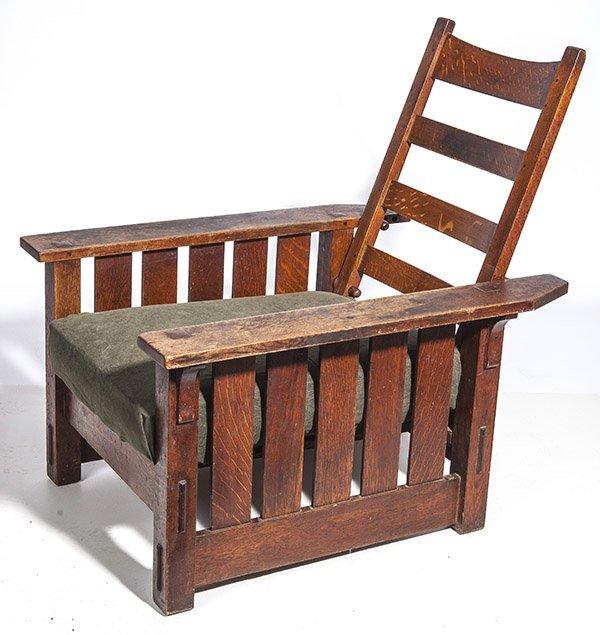 Gustav Stickley Morris Chair #332