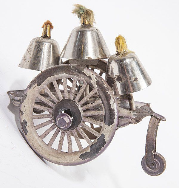 EARLY TIN BELL TOY