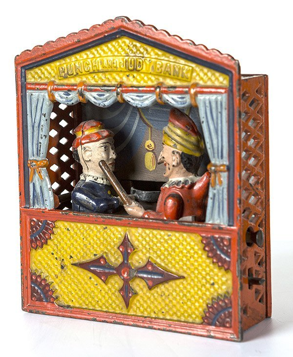 FINE MECHANICAL PUNCH & JUDY BANK