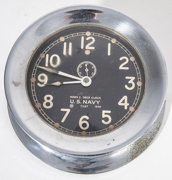 Mark I U.S. Navy Ships Clock