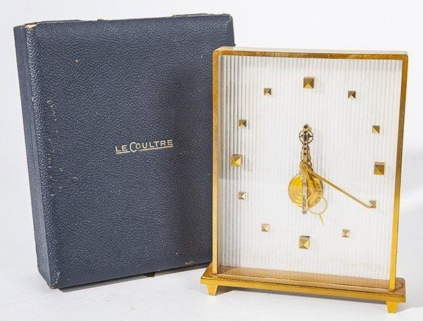 Scarce Jaeger LeCoultre Skeleton Clock