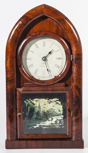 C. Jerome Gothic Shelf Clock