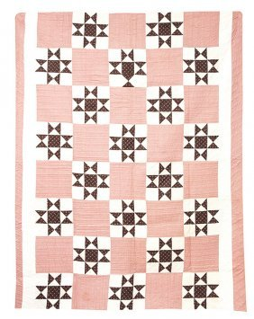 Early Pieced Ohio Star Quilt