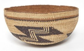 Northwesten California Basketry Hat