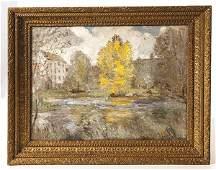 C. Harry Allis (California, MI, OH) Oil Painting