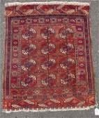 Semi-Antique Bokara Oriental Rug